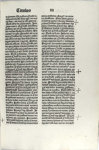 Page of text from 'Lumen animae'. Sp Coll Euing BD7-c.10.