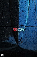 1964 Corvette Hood (Matthew Britton) Tags: auto blue red black detail classic cars car nikon gulf matthew rally fast super images ferrari crescent 328 springs arkansas gt corvette mb v8 bentley eureka britton 2010 v12 d300s