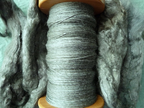 Merino and Bombyx silk (50/50)
