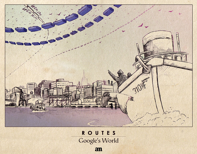 "Routes ""Google's World"""
