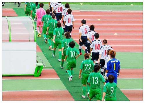 岩渕真奈・入場@日テレ・ベレーザ VS INAC神戸_201008