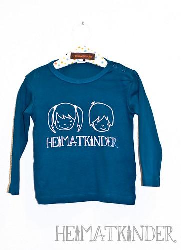 T-Shirt HeimatKinder selbstgedruckt - Siebdruckkurs