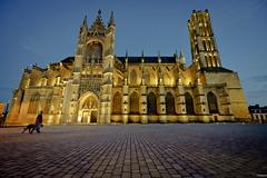 Cathedrale Limoges (Prakane) Tags: nikon nuit cathedrale limousin limoges hautevienne grandangle 1424 d700 prakane
