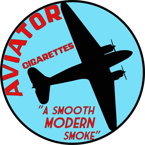 Pulp-Era Fake Ads - Aviator Cigs