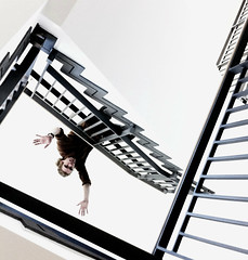 Inception (gloda) Tags: architecture falling staircase blackpanther junglinster photogen