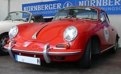 Porsche 356 BT 6 red vl 1962 (stkone) Tags: race deutschland fotografie hamburg oldtimer rennen stadtpark revival