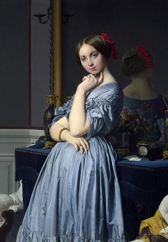 Comtesse d'Haussonville, Jean-Auguste-Dominique Ingres,1845