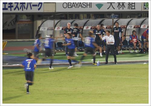 宇佐美貴史ゴール@ガンバ大阪 VS セレッソ大阪
