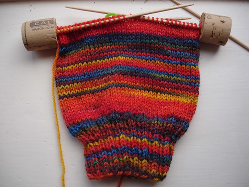 stripy socks for Michael WIP (1)