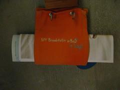 My breakfast in bed (bag)