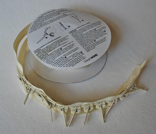 zipper upholstery tape