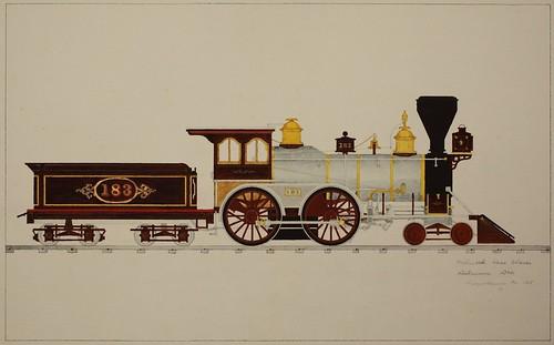 Wilmarth Loco. Works, Delaware Div, Susquehanna, PA 1868