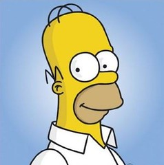 homer simpson 2d image