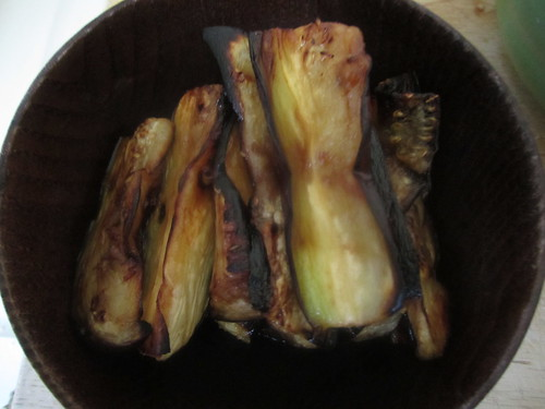 Slightly Peckish: Aubergine 4