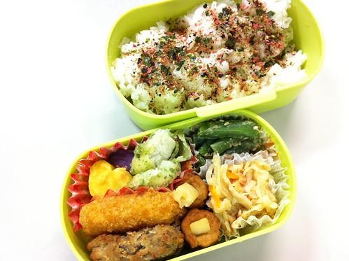 今日のお弁当 No.17 – 梅ゆかり