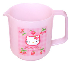 Hello Kitty Strawberry Measuring Cup (pkoceres) Tags: pink cooking cup kitchen japan strawberry hellokitty 1999 sanrio measuringcup     boughtonebay     hellokittystrawberry