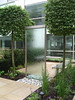Glass Water Wall (Fairwater) Tags: formal ponds fairwater rills fairwaterformalpondsandrills