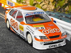 Opel Vectra (Mk.1) (2) (Andy Reeve-Smith) Tags: opel scalextric vectra