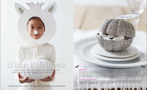 Sweet Paul, magazine, Fall, issue 2010, sweet, halloween, orange, autumn, design 4