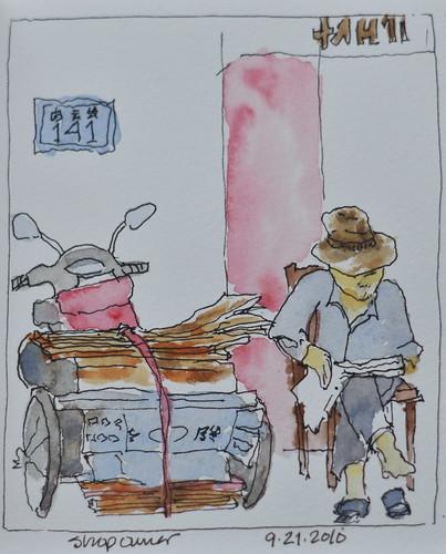 shop owner - Yunnan, China
