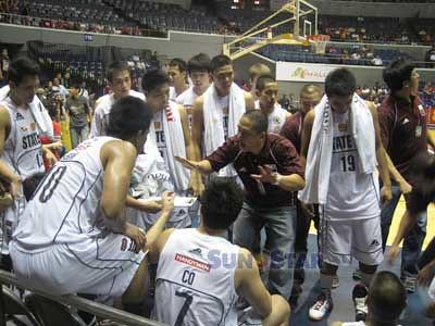 of the Philippines (UAAP) men's basketball. (Virgil Lopez/Sunnex