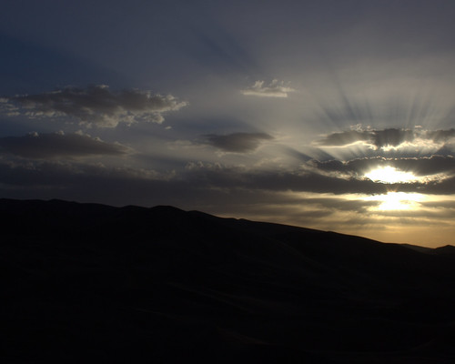 God's Rays over Dunhuang