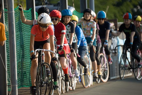 Girls Scratch Race