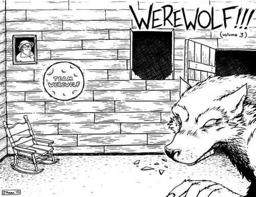Werewolf 3 Cover Wrap-Around