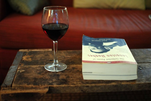 wine + poetry