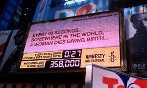 Maternal Death Clock
