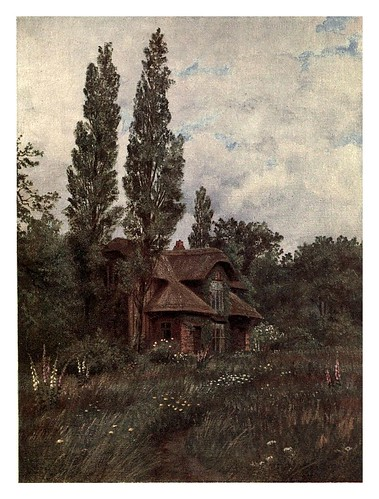 006-La cabaña de la reina-Kew gardens 1908- Martin T. Mower