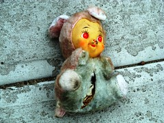 Doll on Ground (Abandoned Toys No. 3) (Big Sky Brooklyn) Tags: sky brooklyn abandonedtoys brooklyn big discardedtoys adam bigskybrooklyncom eisenstat artifactscatalogbigskybrooklynartifacts playgrounds