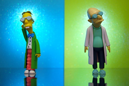 Professor John Frink, Jr. vs. Professor Hubert J. Farnsworth (266/365)