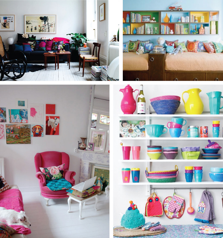 Candy Coated Interiors