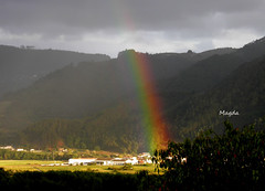 Arco iris - Rainbow (magda196) Tags: mountains arcoiris rainbow villages arcoris magda pueblos montaas platinumheartaward magda196