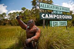 Skunk Ape Research Center (keylargo_diver) Tags: sign florida everglades roadsideamerica bigcypress southflorida keylargodiverflickrcom
