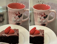 (NOURA - alshaya ) Tags: cup breakfast mouse strawberry mickey nutella