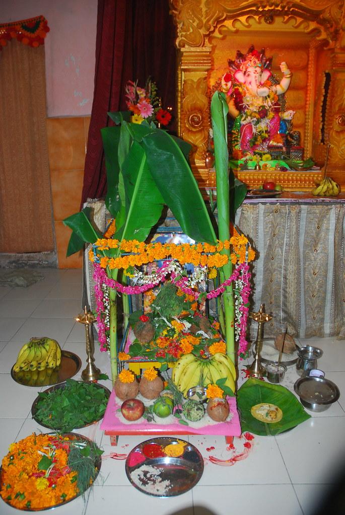 Satyanarayan Puja At Ramesh Garuds House Bandra