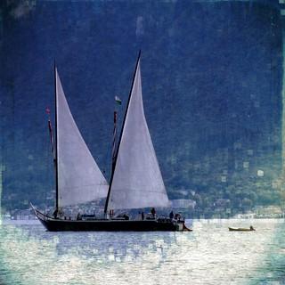 la Demoiselle - la barque des enfants