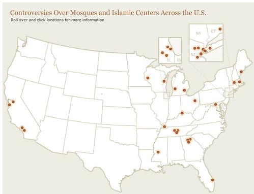 map masjid controversies 2010