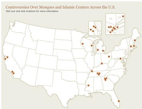 map masjid controversies 2010
