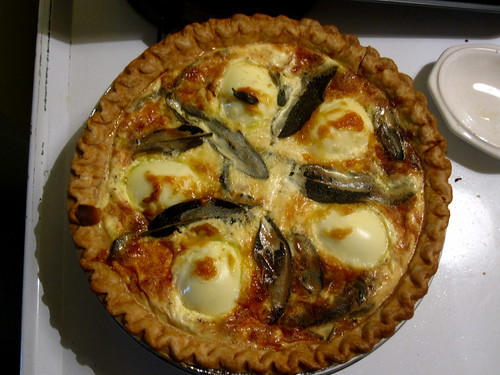 Egg and Sage quiche