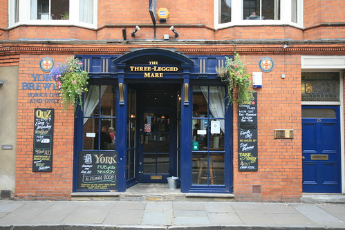 The Three Legged Mare, York
