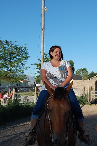 I'm on a horse, and NO I did not like it.