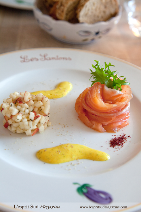 Saumon fumé (Smoked salmon)