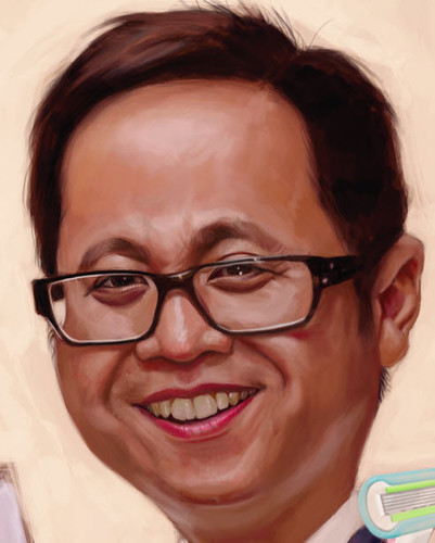 digital caricature for P&G - Ivan - 4 small