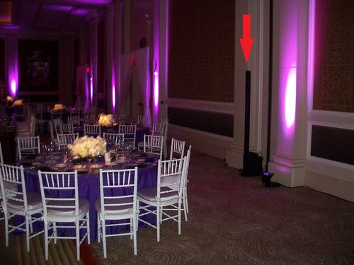 wedding at Mandarin Oriental DC, Washington DC DJ, Wireless Bose speakers, boutique corporate and wedding DJl