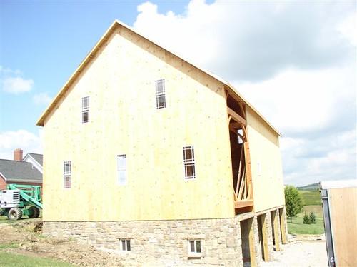Flickriver: Photoset \'Riverbend Timber Frame Barn\' by Riverbend ...