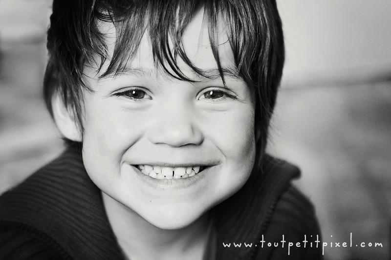 Portrait d'enfant à Marseille