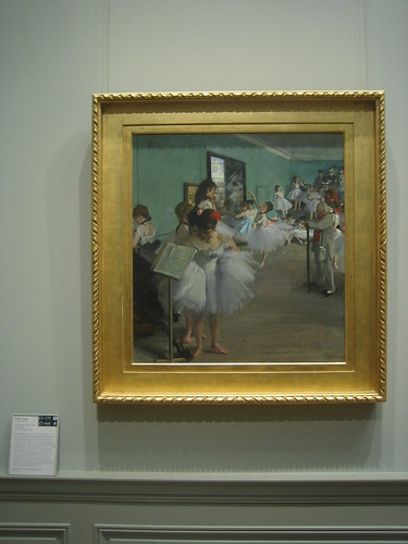 The Dance Class, 1874, Edgar Degas _8408